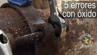 5 errores con tornillos y  tuercas  oxidados (Bricocrack)