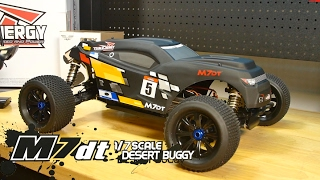Team Energy M7DT 1/7 Scale RC Desert Buggy Overview
