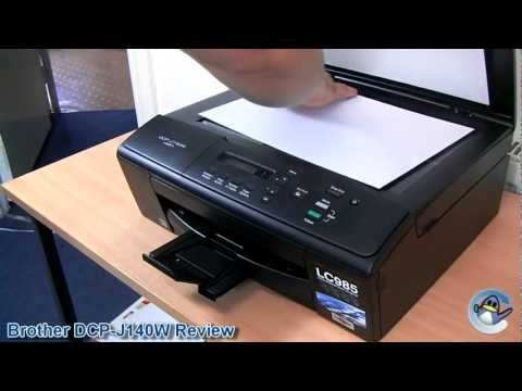 Brother DCP-J140W Printer Review