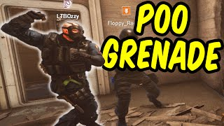 POO GRENADE - Rainbow Six Siege Funny Moments & Epic Stuff