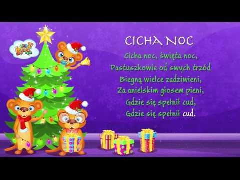 Polskie Kolędy - Cicha Noc + Tekst (karaoke)