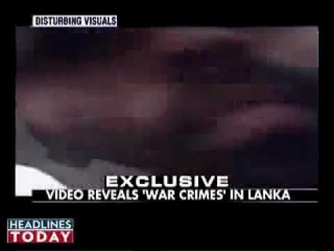 india news: video of bruality against Tamil woman by Sri lankan army