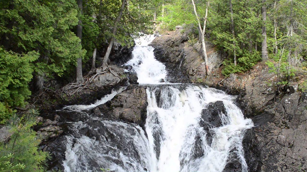 Crystal Falls In Hiawatha Highlands Park Ontario Youtube