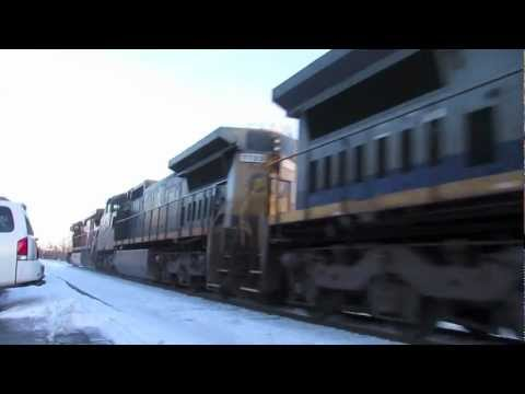 BNSF 1090 Leads LOT Train (Shirley MA)
