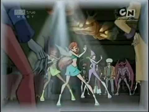 Winx Club Season 2: Episode 17 - Twinning with the Witches (Rai English) Part 1