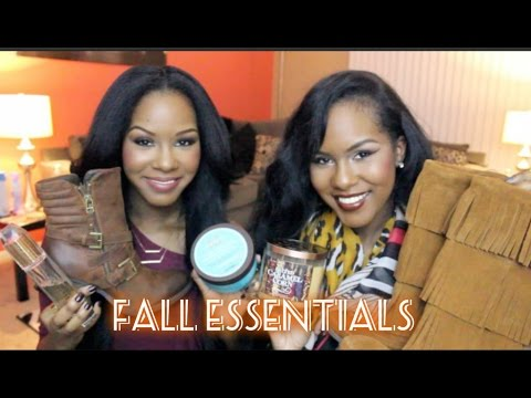 Fall Essentials - Fashion & Beauty!