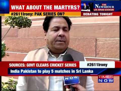 India-Pakistan Series to Be Resume?