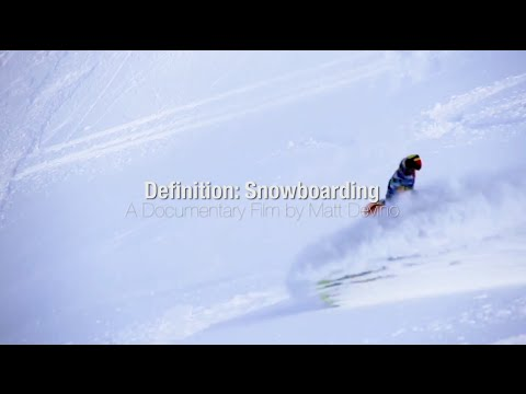 Definition: Snowboarding - Trailer 2