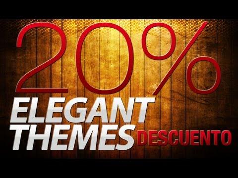 Elegant Themes | Comprar Plantilla Wordpress Con Descuento