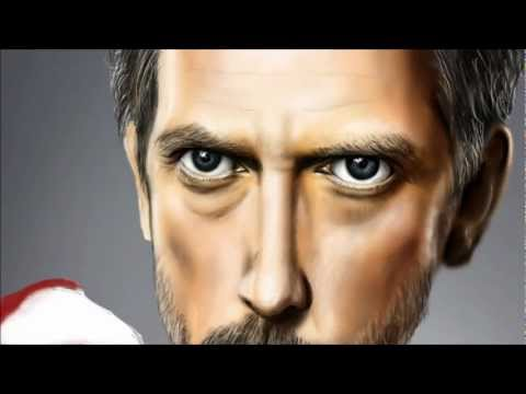Dr. House - Caricature - Speedpainting (by Riki Rosales)
