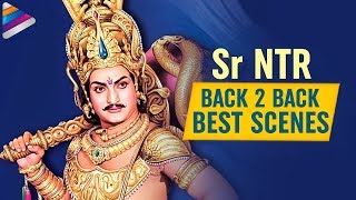Sr NTR Back to Back Best Scenes | Sr NTR Super Hit Movies | Bobbili Puli | Telugu FilmNagar