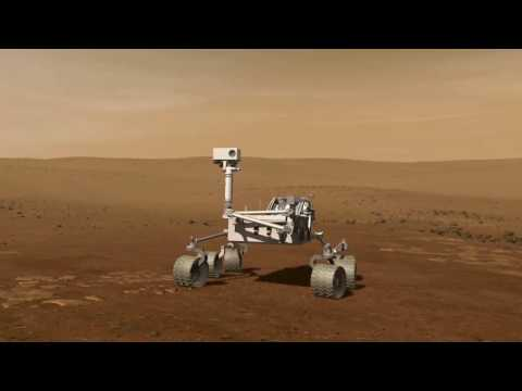 The new 2009 Mars rover in HD 720p