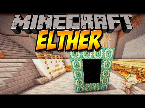 NEUE DIMENSION   Elther Mod   Minecraft Mod Review [DEUTSCH]