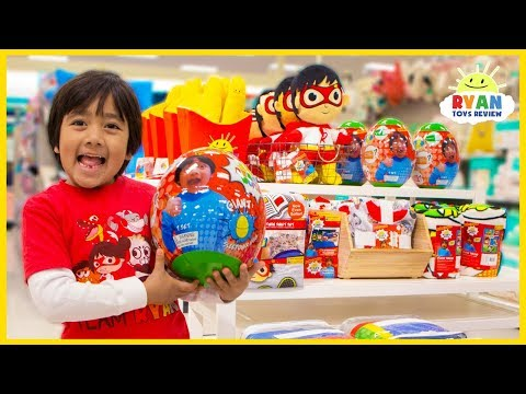 Toy Master Challenge Ryan to Toy Hunt at Target for Ryan's World Beddings and Toys!