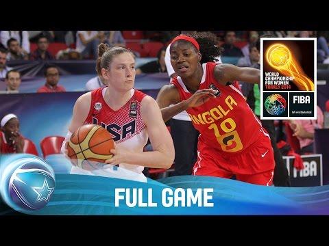 USA v Angola - Full Game - Group D - 2014 FIBA World Championship for Women