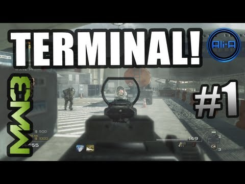 "MW3 ""TERMINAL"" Survival Mode! - Top 100 Worldwide Wave 30+! Part 1 (Modern Warfare 3 Gameplay)"