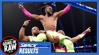 WWE Smackdown Review & Results | Kofi Gets Title Shot, NOLA Pops For NXT! | Going in Raw Podcast