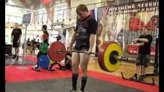 Nick Zhukov 5th Eurasian AWPC RAW Powerlifting