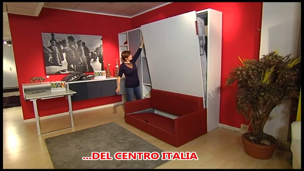 Super Letti A Scomparsa Con Armadio A Ponte WI56