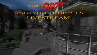 GoldenEye 007 N64 - 00 Agent Playthrough - Angrylion RDP Plus