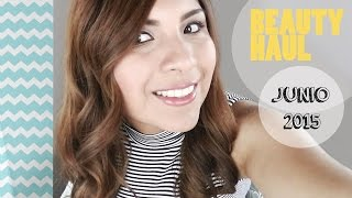 BEAUTY HAUL JUNIO 2015