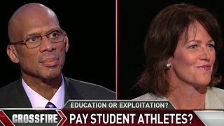 Crossfire  Hypocritical not to pay college athletes?  3/31/14  (Sports)