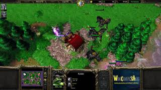 Happy(UD) vs RaZZoRMaN(ORC) - WarCraft 3 Frozen Throne - RN3690