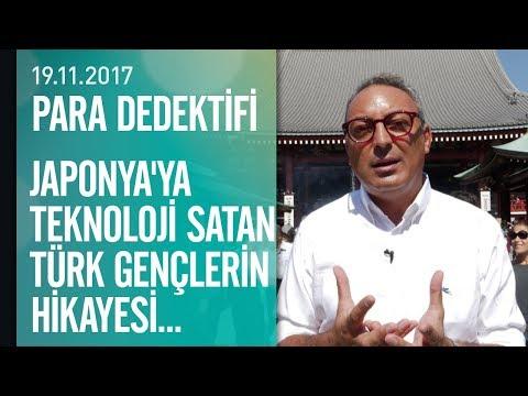 Japonya'ya teknoloji satan Türk gençlerin hikayesi - Para Dedektifi 19.11.2017 Pazar