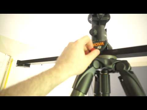 How solid is the Manfrotto MPRO 535 tripod for a slider?