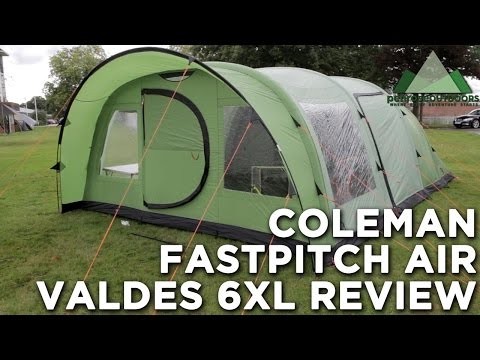 Coleman Fast Pitch Air Valdes 6XL Tent Review