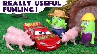 Funny Funlings Really Useful Funling Kids Story with Cars 3 McQueen and Thomas The Train