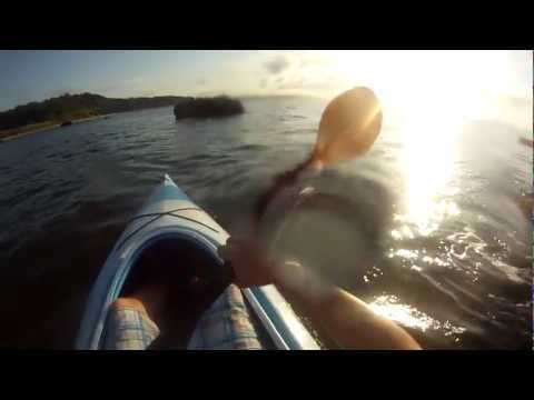 GoPro Kayak Fishing - Birds Are Slackin on the Long Island Sound