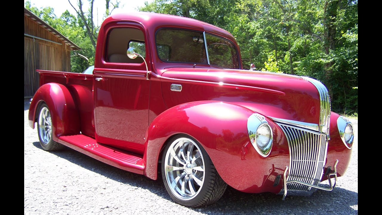 1941 Ford Pickup Hot Rod Truck Front Fenders 2