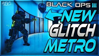 Black Ops 3 Glitches : Le Meilleur Glitch de la carte Metro ! - BO3 Glitches 1.25 - PS4