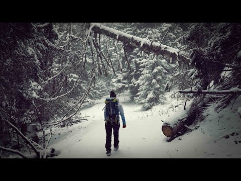 Winter Adventure in Romania. (4K)
