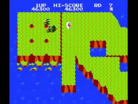 Dig Dug II - Trouble in Paradise - Dig Dug II - Trouble in Paradise (NES) - Vizzed.com Play - User video