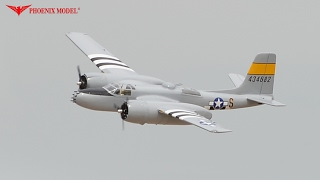 A26 INVADER GP/EP Size .46-.55 Scale 1:9 ¼ ARF PH170 PHOENIXMODEL