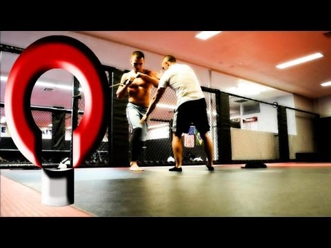 Basic MMA Training workouts with UFC fighter Myles Jury Image 1