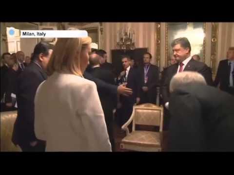 Ukraine Peace Talks  Germany, France, Ukraine and Russia FMs meet in Berlin
