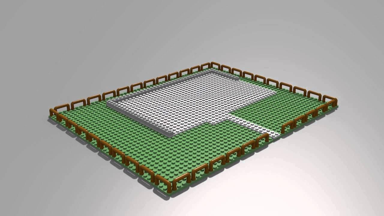 Blender Lego Haus bauen