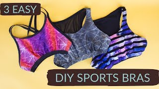 3 Easy DIY Sports Bras