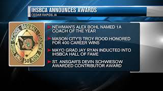 Local baseball coaches win awards