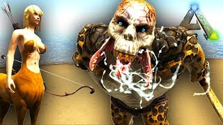 ARK GIANT OGRE, CENTAUR, MERMAID AND MUCH MORE!! Ark Survival Evolved Pyria Mythos Evolved Mod