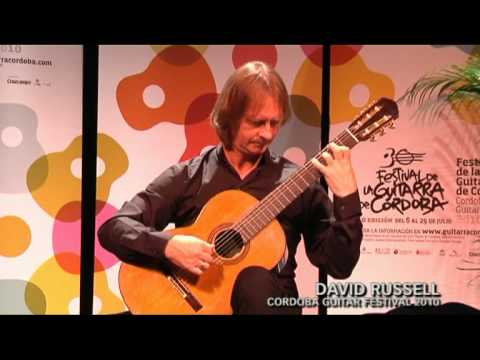 David Russell - Cordoba Guitar Festival - 2010
