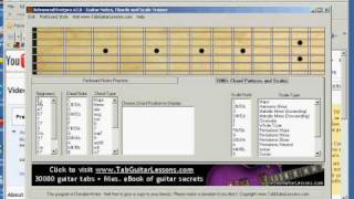 free guitar fret board practice software (advanved fret pro)