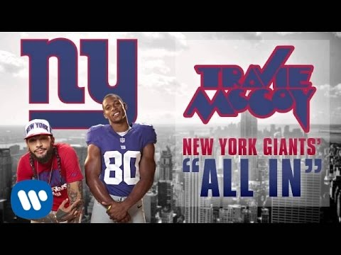 Travie McCoy: All In - New York Giants' Anthem (Audio)