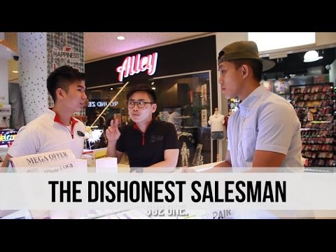The Dishonest Salesman