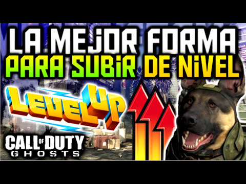 La Mejor Forma Para Subir De Nivel En Call Of Duty Ghosts | Guía Multijugador - TheGrefg