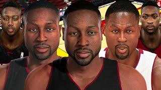 Dwyane Wade From NBA 2K4 to NBA 2K16