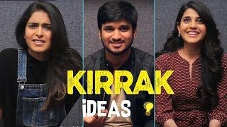 KIRRAK IDEAS Game | KIRRAK Party | Nikhil | Samyuktha | Simran Pareenja |TFPC